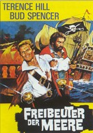 Il corsaro nero - German DVD cover (xs thumbnail)