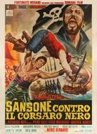 Sansone contro il corsaro nero - Italian Movie Poster (xs thumbnail)