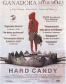 Hard Candy - Spanish Movie Poster (xs thumbnail)