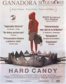 Hard Candy - Spanish Movie Poster (xs thumbnail)
