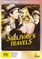Sullivan's Travels - Australian DVD cover (xs thumbnail)