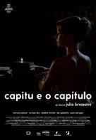Capitu e o Capítulo - Brazilian Movie Poster (xs thumbnail)