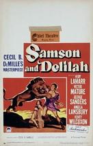 Samson and Delilah - Movie Poster (xs thumbnail)