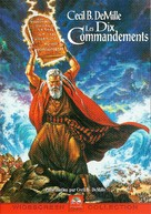 The Ten Commandments - French DVD movie cover (xs thumbnail)