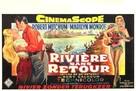 River of No Return - Belgian Movie Poster (xs thumbnail)