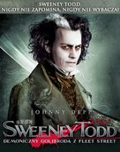 Sweeney Todd: The Demon Barber of Fleet Street - Polish Movie Poster (xs thumbnail)