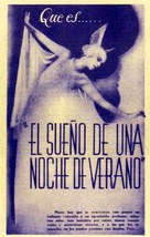 A Midsummer Night's Dream - Spanish Movie Poster (xs thumbnail)