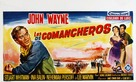 The Comancheros - Belgian Movie Poster (xs thumbnail)