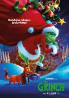 The Grinch - Finnish Movie Poster (xs thumbnail)