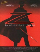 The Mask Of Zorro - Italian Movie Poster (xs thumbnail)