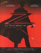 The Mask Of Zorro - Italian Movie Poster (xs thumbnail)