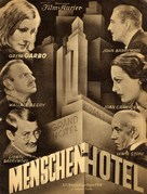 Grand Hotel - German poster (xs thumbnail)