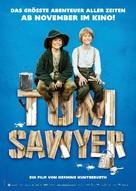 Tom Sawyer - German Movie Poster (xs thumbnail)