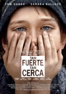 Extremely Loud & Incredibly Close - Spanish Movie Poster (xs thumbnail)