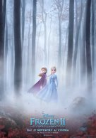 Frozen II - Italian Movie Poster (xs thumbnail)