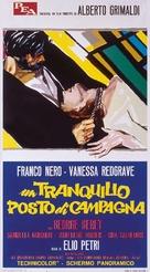 Un tranquillo posto di campagna - Italian Movie Poster (xs thumbnail)