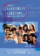 L'auberge espagnole - Hungarian Movie Poster (xs thumbnail)