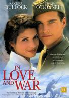 In Love and War - Danish DVD cover (xs thumbnail)