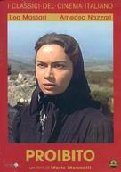 Proibito - Italian DVD movie cover (xs thumbnail)