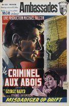 Nowhere to Go - Belgian Movie Poster (xs thumbnail)
