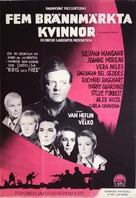 5 Branded Women - Swedish Movie Poster (xs thumbnail)