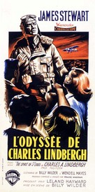 The Spirit of St. Louis - French Movie Poster (xs thumbnail)