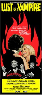 Lust for a Vampire - British Movie Poster (xs thumbnail)