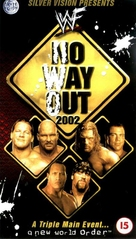 WWF No Way Out - British Movie Cover (xs thumbnail)