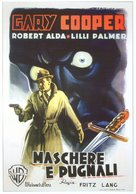 Cloak and Dagger - Italian Movie Poster (xs thumbnail)