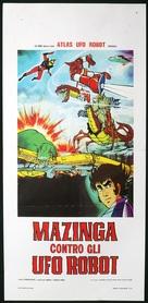 Gurendaizâ, Gettâ Robo jî, Gurêto Majingâ - Kessen! Daikaijû - Italian Movie Poster (xs thumbnail)