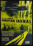 One of Our Aircraft Is Missing - Swedish Movie Poster (xs thumbnail)