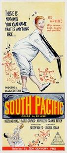 South Pacific - Australian Movie Poster (xs thumbnail)