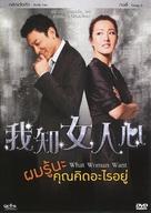 I Know a Woman's Heart - Thai DVD movie cover (xs thumbnail)