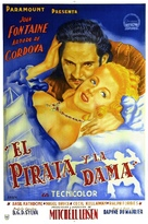 Frenchman's Creek - Argentinian Movie Poster (xs thumbnail)