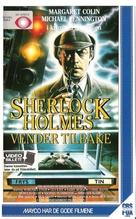 The Return of Sherlock Holmes - Norwegian VHS movie cover (xs thumbnail)