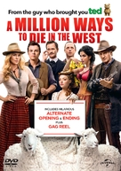 A Million Ways to Die in the West - British DVD movie cover (xs thumbnail)