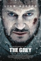 The Grey - Danish Movie Poster (xs thumbnail)