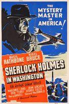 Sherlock Holmes in Washington - Theatrical movie poster (xs thumbnail)