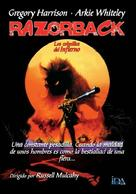 Razorback - Spanish Movie Poster (xs thumbnail)