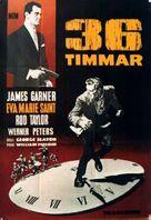 36 Hours - Swedish Movie Poster (xs thumbnail)