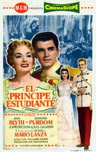 The Student Prince - Spanish Movie Poster (xs thumbnail)