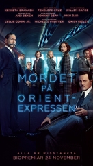 Murder on the Orient Express - Swedish Movie Poster (xs thumbnail)