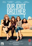Our Idiot Brother - Danish DVD movie cover (xs thumbnail)