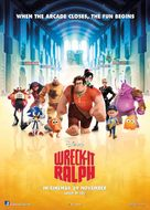 Wreck-It Ralph - Malaysian Movie Poster (xs thumbnail)
