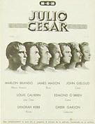 Julius Caesar - Spanish poster (xs thumbnail)
