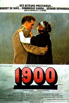 Novecento - French Movie Poster (xs thumbnail)