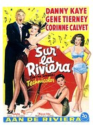 On the Riviera - Belgian Movie Poster (xs thumbnail)