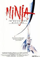 The Ninja Mission - German Movie Poster (xs thumbnail)