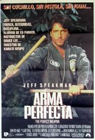 The Perfect Weapon - Spanish Movie Poster (xs thumbnail)