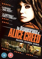 The Disappearance of Alice Creed - British Movie Cover (xs thumbnail)